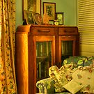 Cottage Corner by Susan  Kimball