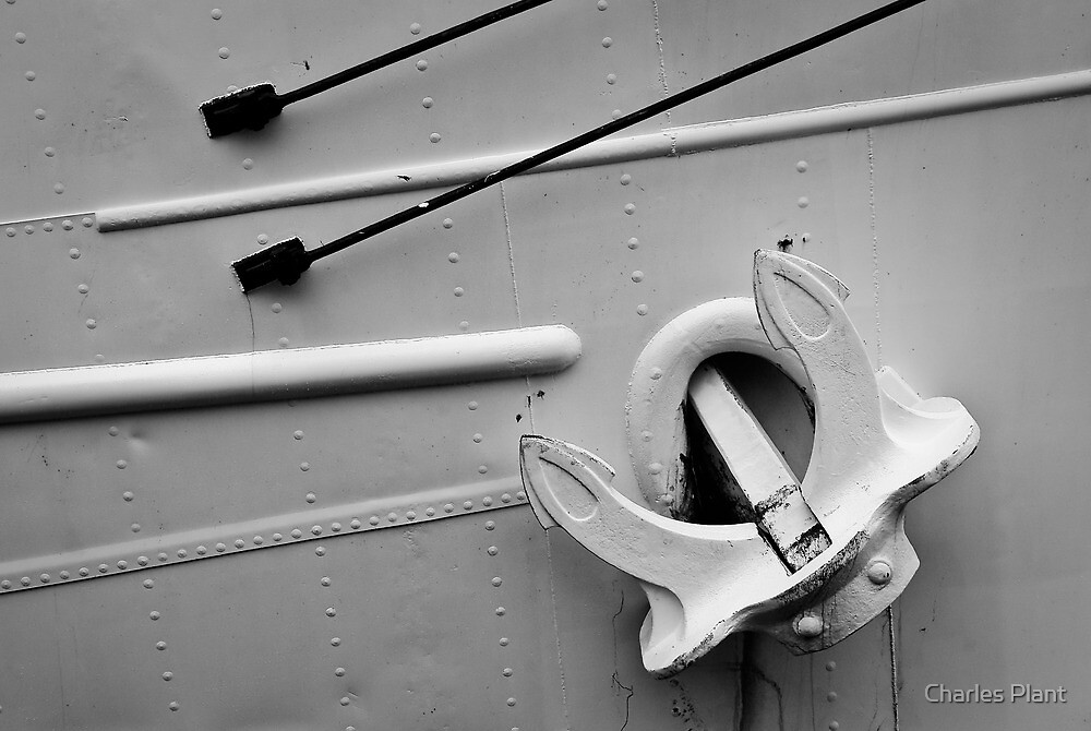 Anchor B&W #2 by Charles Plant