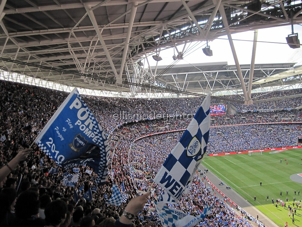 It was a Blue Blue day in Wembley by ellismorleyphto