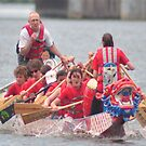 D.C. Dragon boat race Plate # (25) by Matsumoto