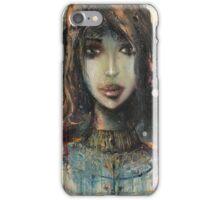 Girl In Dress iPhone Case/Skin