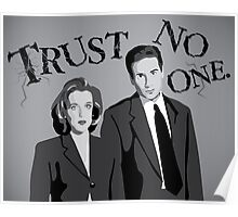 Enter the X-Files Poster
