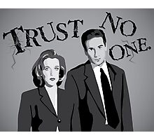 Enter the X-Files Photographic Print