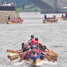 D.C. Dragon boat race Plate # (39) by Matsumoto