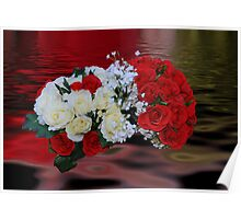 Bridal Flowers Poster
