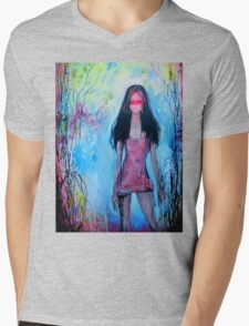 Girl In Rose Colored Dress T-Shirt