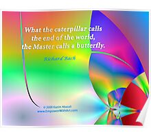 The Master calls a Butterfly Poster