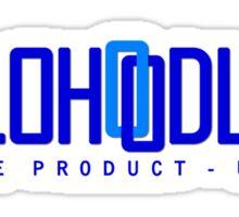 Velo Hoodlum - Blue Link USA Sticker