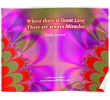 Where there is Great Love Poster