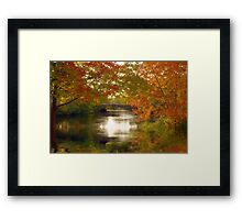 Fall Afternoon Framed Print