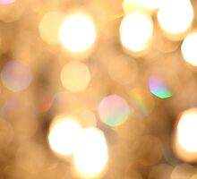 Chandelier Bokeh by Ashley Baxter