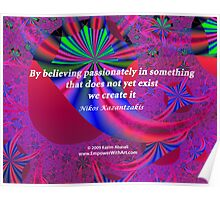 Believing Passionately Poster