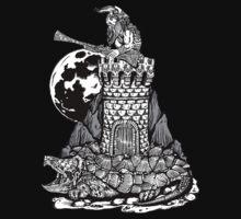 Viking Castle Turtle by ZugArt