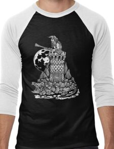 Viking Castle Turtle Men's Baseball ¾ T-Shirt