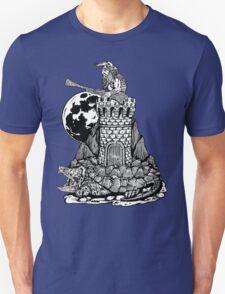 Viking Castle Turtle T-Shirt