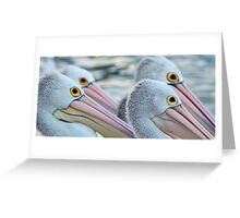 4 OF A KIND Greeting Card