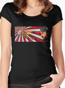 Brent Seabrook: Chicago Blackhawks Women's Fitted Scoop T-Shirt