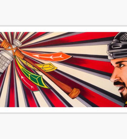 Brent Seabrook: Chicago Blackhawks Sticker