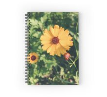 Beautiful Yellow Spiral Notebook