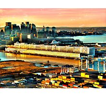 Boston Sea Cruise  Photographic Print