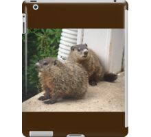 Act casual, pretend you don't see it. iPad Case/Skin