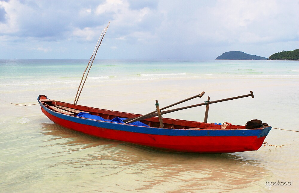 Bai Sao fishing Boat by mooksool