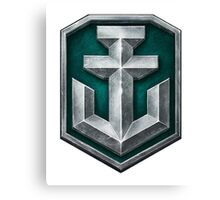 World of Warships Logo Canvas Print