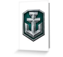 World of Warships Logo Greeting Card