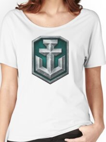 World of Warships Logo Women's Relaxed Fit T-Shirt