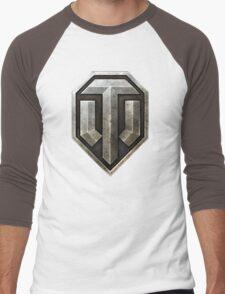 World of Tanks Logo Men's Baseball ¾ T-Shirt