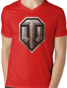 World of Tanks Logo Mens V-Neck T-Shirt