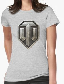 World of Tanks Logo Womens Fitted T-Shirt