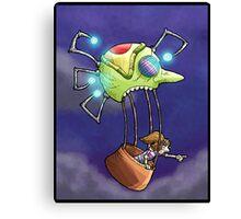 balloon ride... Canvas Print