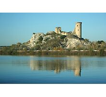 View along the Rhone: A Castle That Was Photographic Print