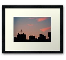 Right place, right time... Framed Print