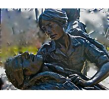 Vietnam Womans Memorial Photographic Print