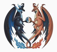Mega Charizard X and Y Kids Clothes