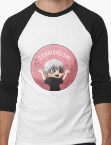 Cannibalism! Men's Baseball ¾ T-Shirt
