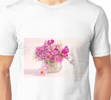 Cosmos - Summers Last Bouquet  Unisex T-Shirt