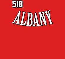 Albany Alternate Jersey Style Unisex T-Shirt
