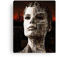 Technologically Enhanced Canvas Print