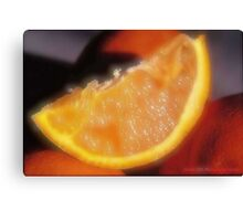 Orange. Canvas Print