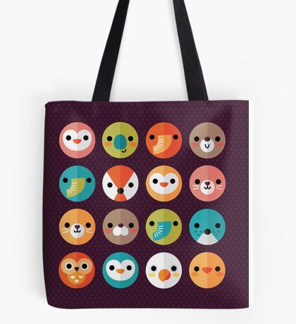 Smiley Faces Tote Bag