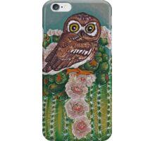 Floral Elf Owl iPhone Case/Skin