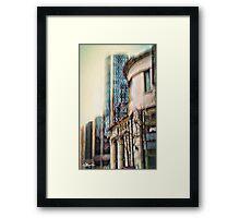 Gunsmog Framed Print