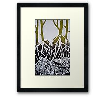 Mangroves - series one Framed Print