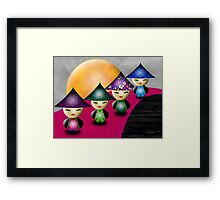 Inner Child - Little China Dolls Framed Print