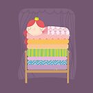 The princess and the pea by mjdaluz