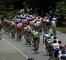 Amgen Tour on The Move by Patty Boyte