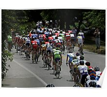 Amgen Tour on The Move Poster